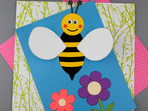 3D Bee Craft - Easy Paper Crafts for Kids