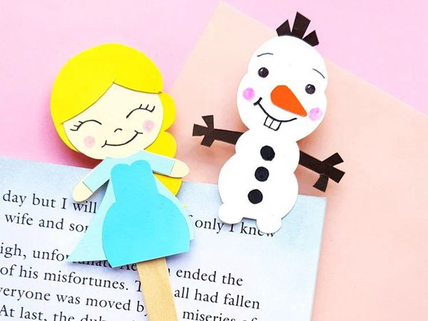 Frozen Paper Craft - Easy Paper Crafts for Kids