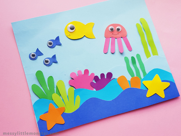 Ocean Paper Craft - Easy Paper Crafts for Kids