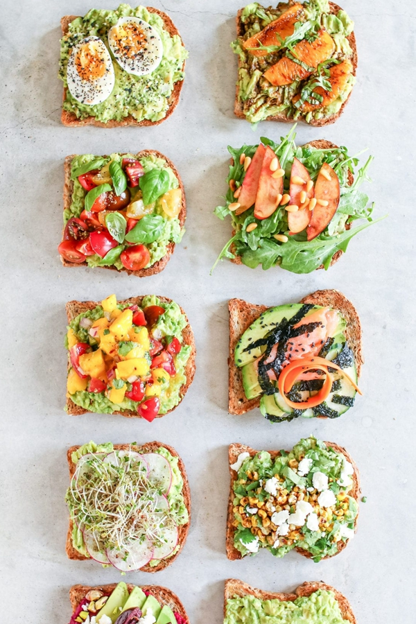 Avocado Toast Snack - Snack Recipes for Kids