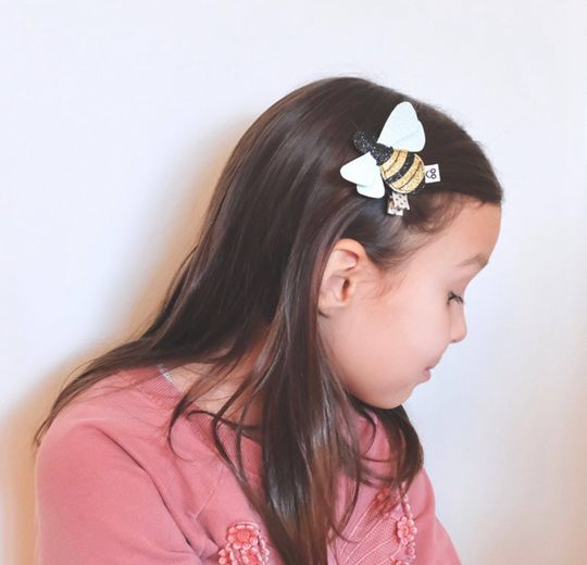 Bumble Bee Hair Clip - Cute Hair Clip for Kids