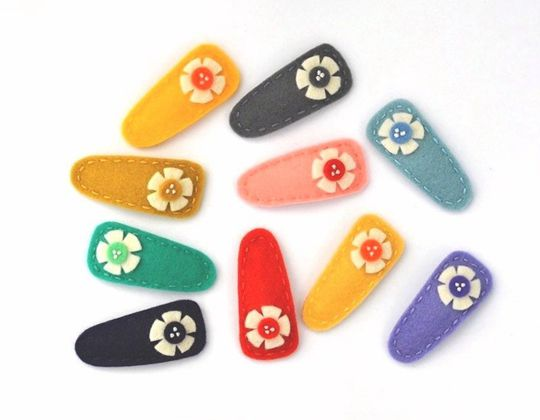 Cosmos Hair Clips - Cute Hair Clip for Kids