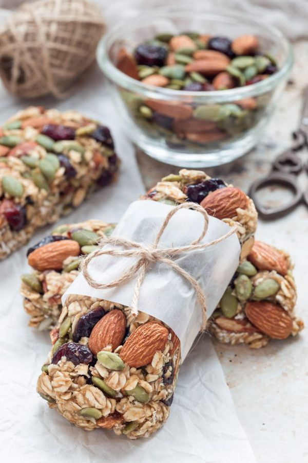 Easy and Healthy Muesli Bar - Snack Recipes for Kids