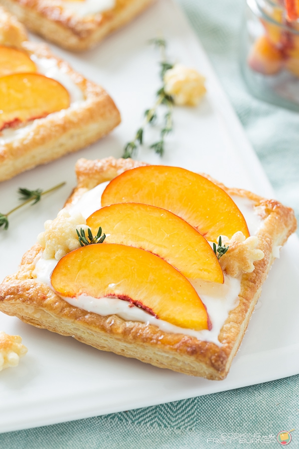 Fresh Peach Tart - Snack Recipes for Kids