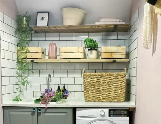 Laundry Room Shelving Ideas