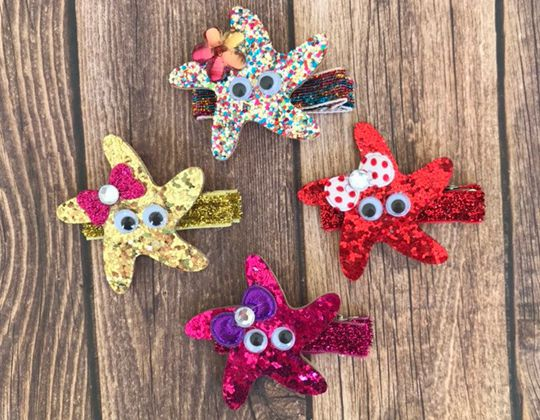 Starfish Hair Clip - Cute Hair Clip for Kids