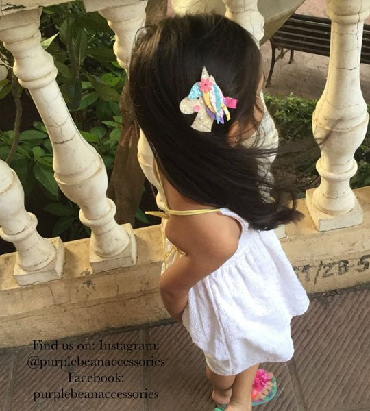 Unicorn Hair Clip - Cute Hair Clip for Kids