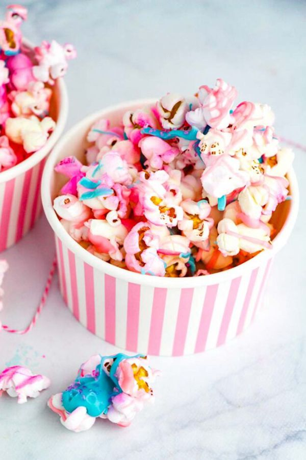 Unicorn Popcorn Snack - Snack Recipes for Kids