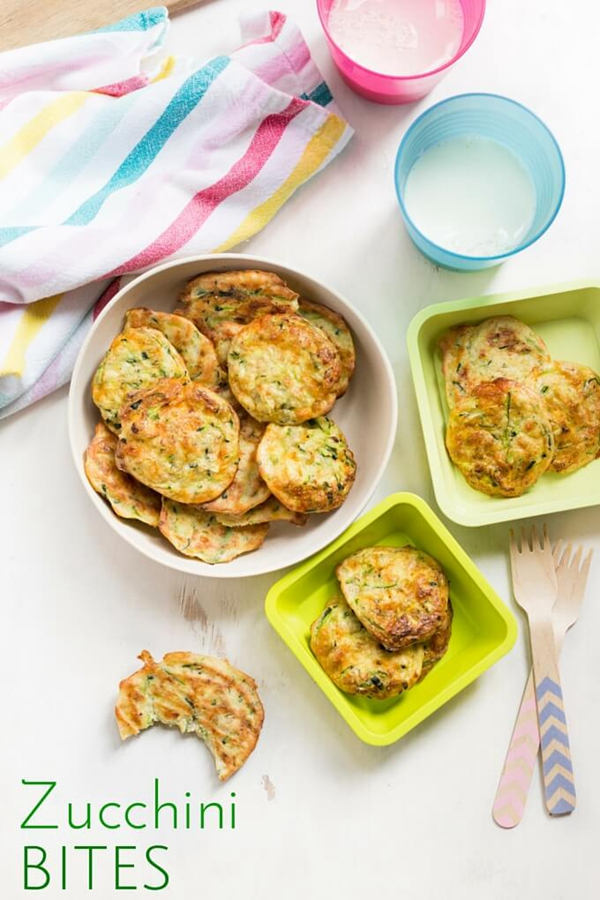 Zucchini Bites - Snack Recipes for Kids