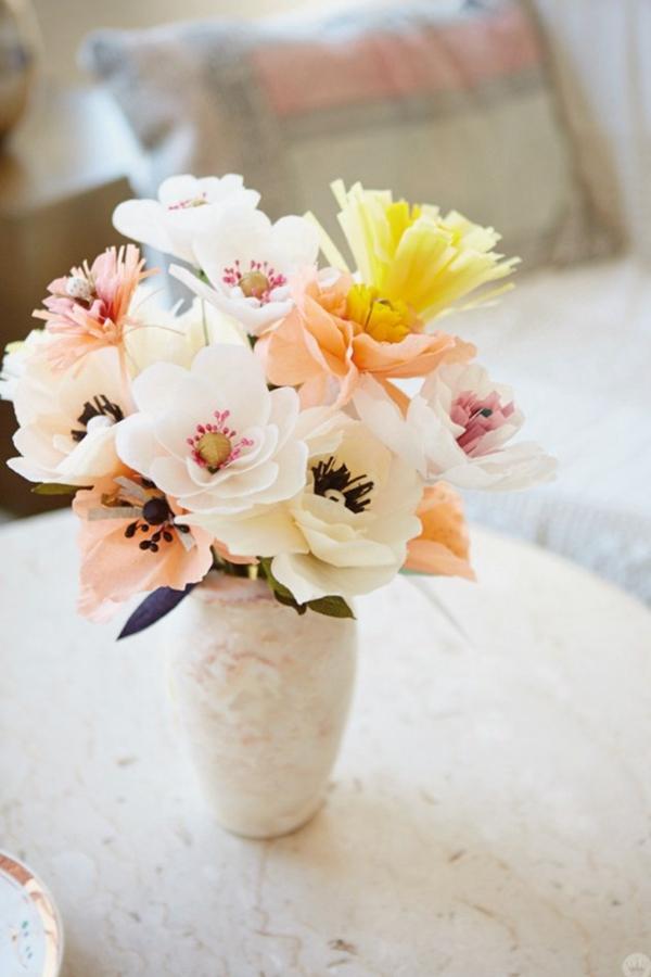 Crepe Paper Flowers - DIY Paper Flowers Ideas