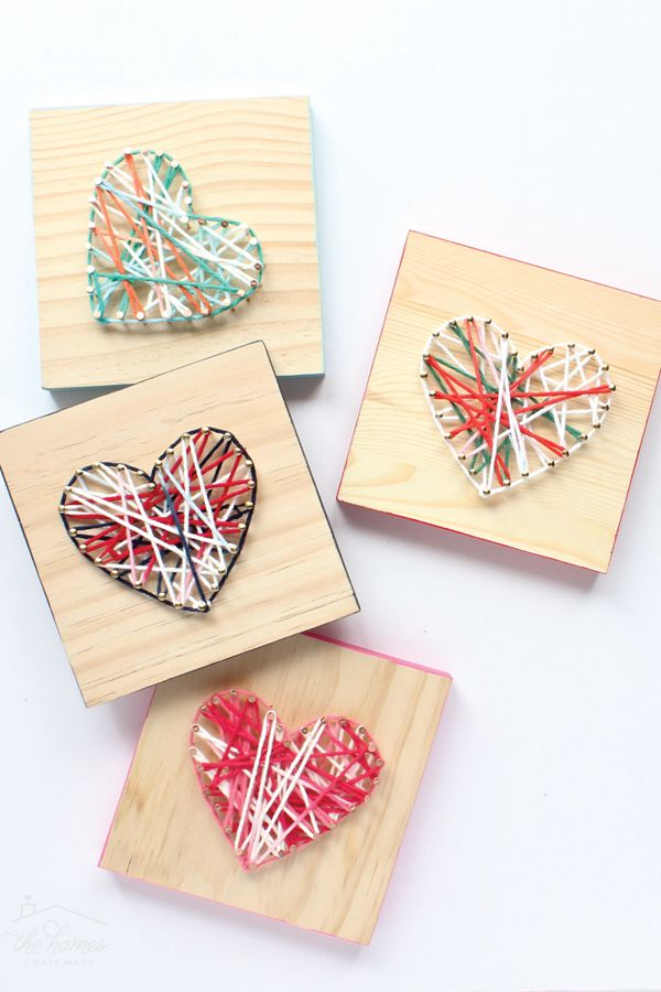 Easy DIY String Art Gift - String Art Ideas