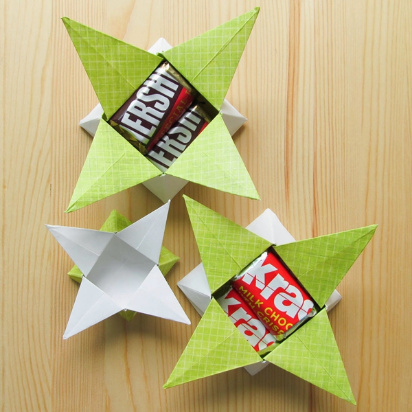 Four Point Star - Toilet Paper Roll Crafts