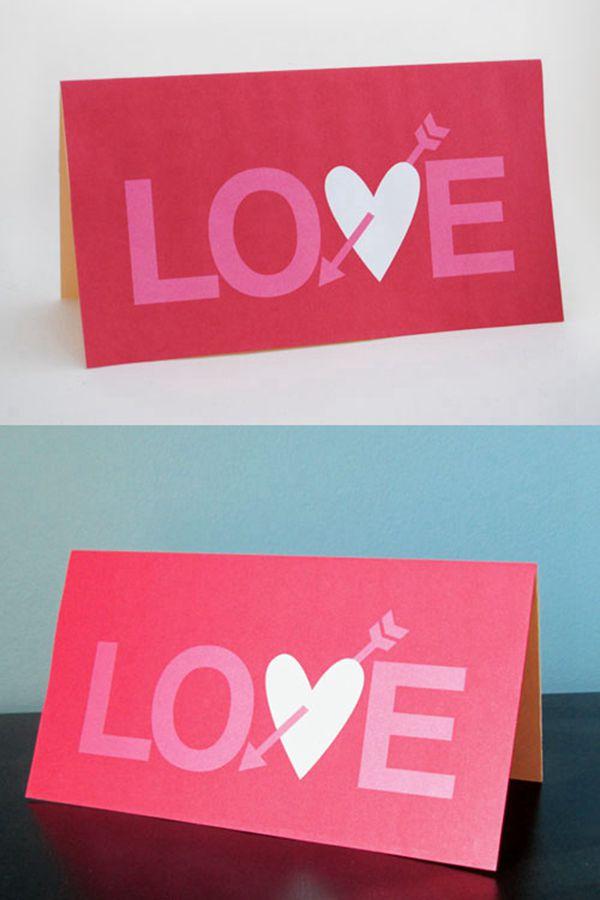 Free Printable Valentine's Day Cards - DIY Valentine's Day Card Ideas