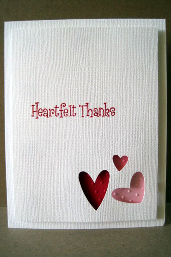 Hearts Abounding Valentine's Day - DIY Valentine's Day Card Ideas