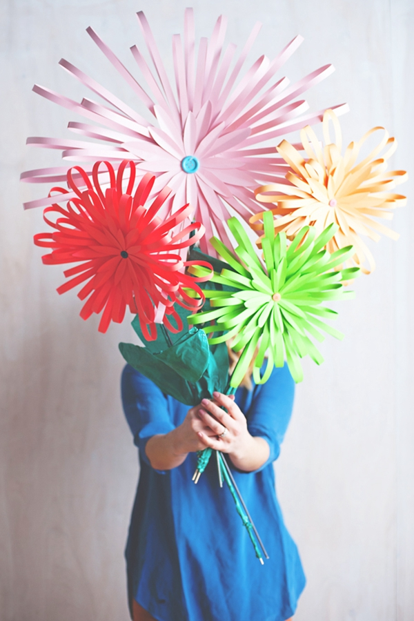 How To Make Paper Flowers - DIY Paper Flowers Ideas
