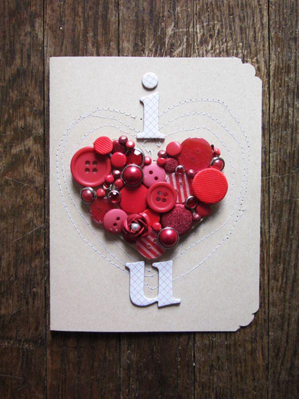 I Love You Valentine's Day Card - DIY Valentine's Day Card Ideas