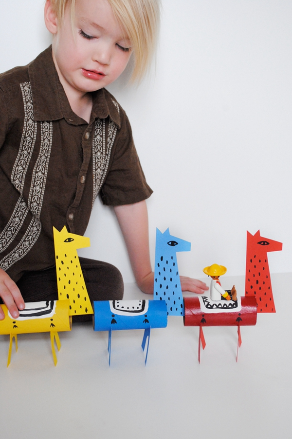 Llama Toilet Paper Roll Craft - Toilet Paper Roll Crafts