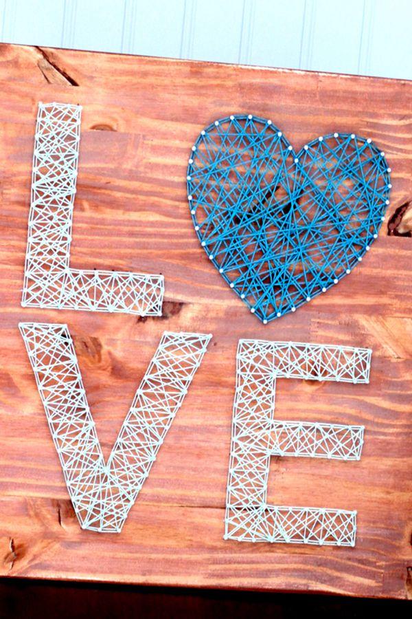 Love String Art - String Art Ideas