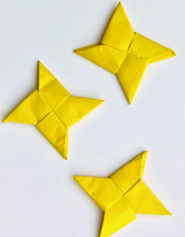 Origami Ninja Star - Toilet Paper Roll Crafts