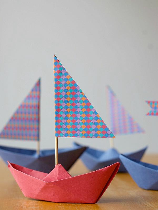 Paper Boat How To - Toilet Paper Roll Crafts