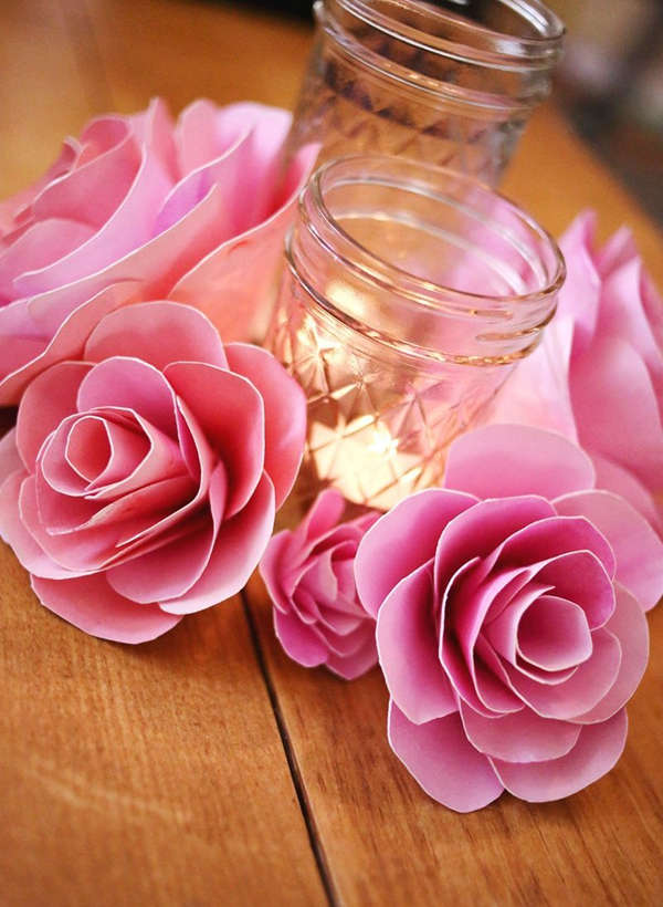 Paper Flower How To - DIY Paper Flowers Ideas
