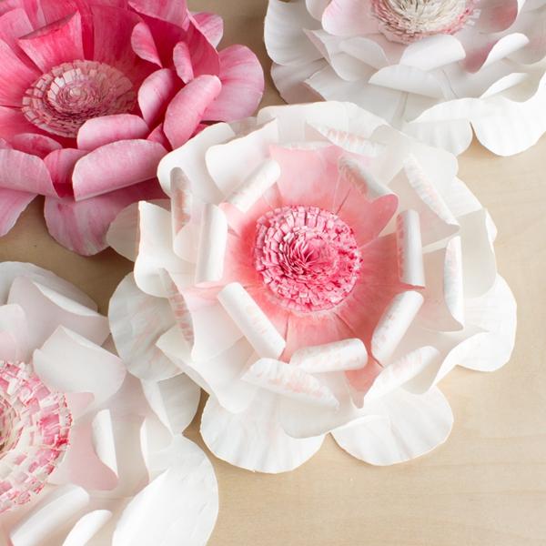 Paper Plate Flowers - DIY Paper Flowers Ideas