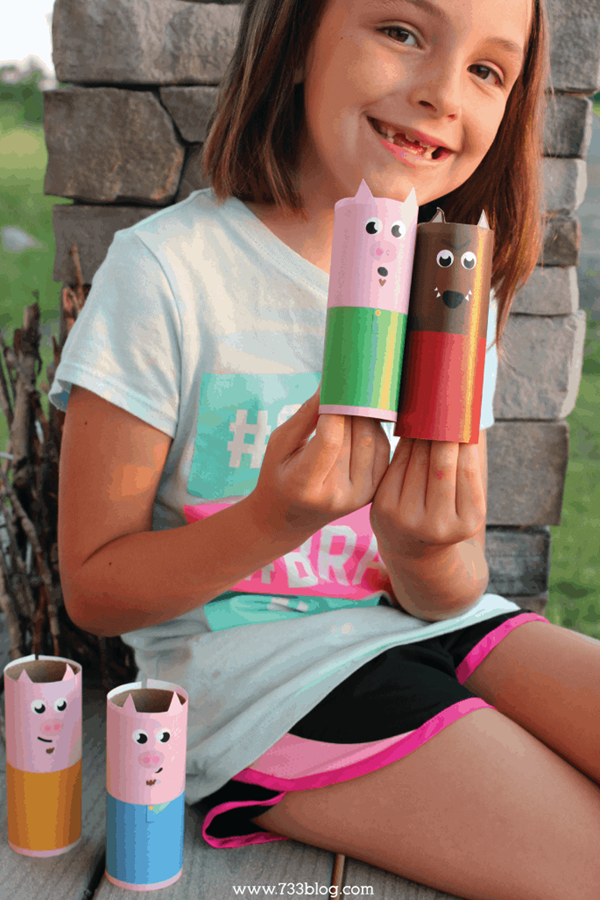 Toilet Paper Tube Puppets - Toilet Paper Roll Crafts
